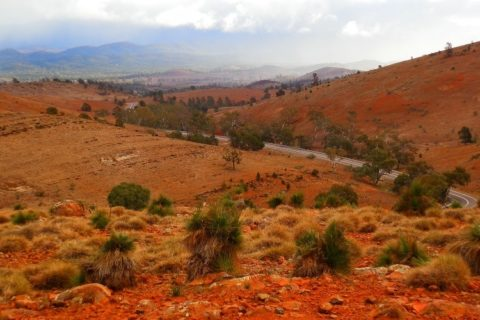 Outback near Blinman, Flinders Ranges, South Australia