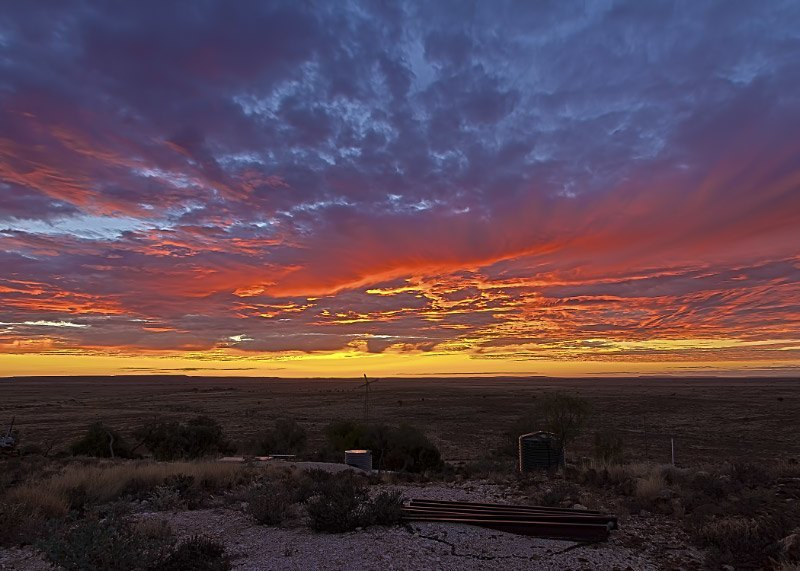 White Cliffs Sunset, Outback New South Wales