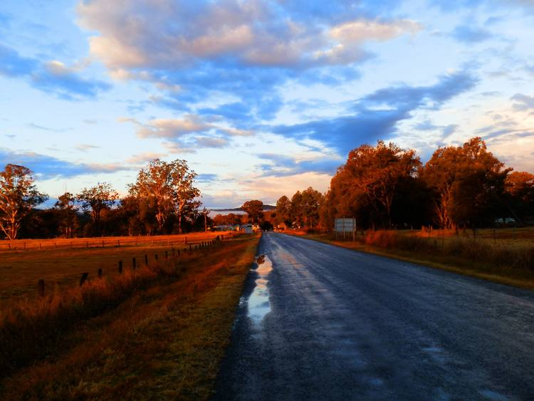 The Road to Woodenbong