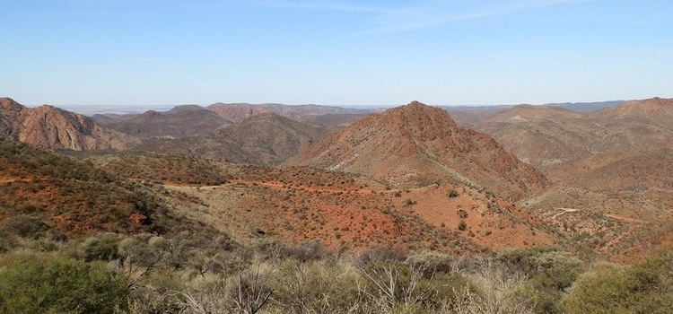 Coulthard Lookout, Arkaroola, Outback South Australia