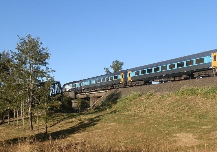 Train on Bridge, Kyogle, NSW