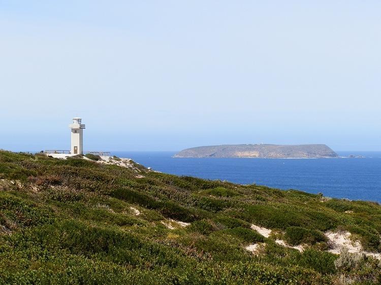 Cape Spencer and Althorpe Island Lighthouses