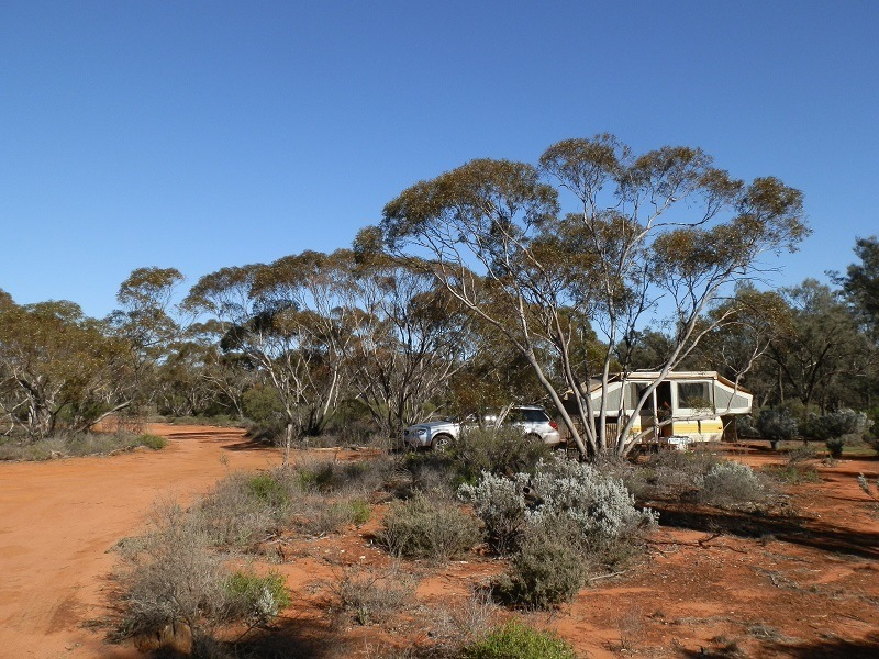 Babbler Campground, Gluepot Reserve, SA
