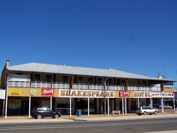 Aussie Pub at Barcaldine, Queensland