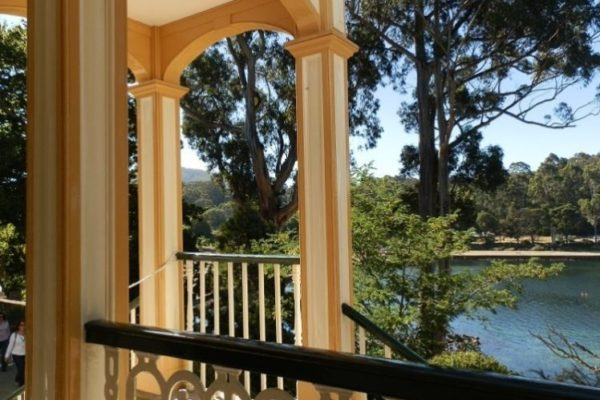 View from Commandant's Verandah, Port Arthur