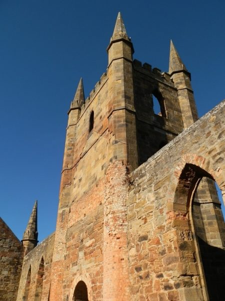 Church Spires, Port Arthur, Tasmania
