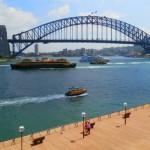 Sydney Harbour Bridge from the Opera House