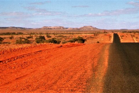 Windorah Landscape, Outback Queensland, Australia
