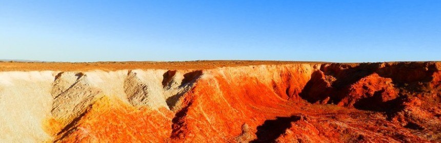 Ochre Pits near Lyndhurst, South Australia