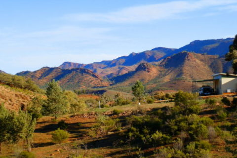 Heysen Range at Angorichina, Northern Flinders Ranges