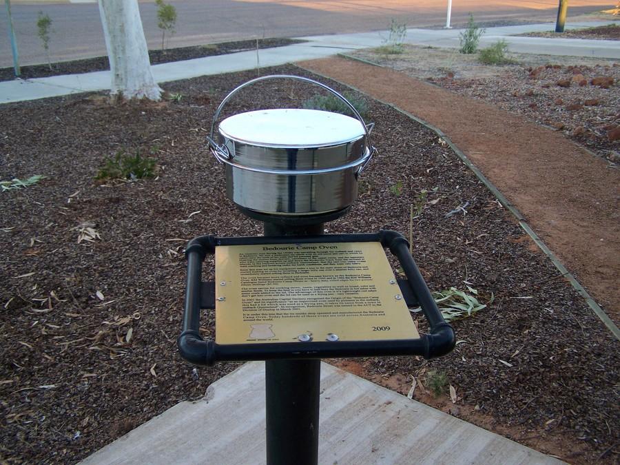 Bedourie Oven memorial, Bedourie, Queensland