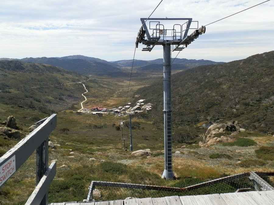 Charlotte Pass from Ski Lift, New South Wales