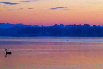 Lake Moogerah Sunrise, Scenic Rim, Queensland, Australia