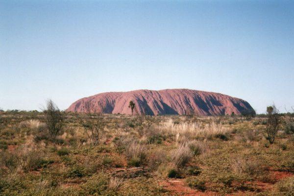 Shadows at Uluru, Central Australia