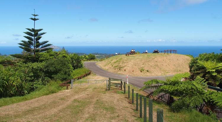 Mt Pitt Lookout, Norfolk Island