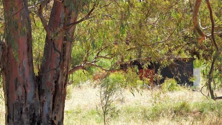 Loo at The Rocks Reserve, Balaklava, South Australia