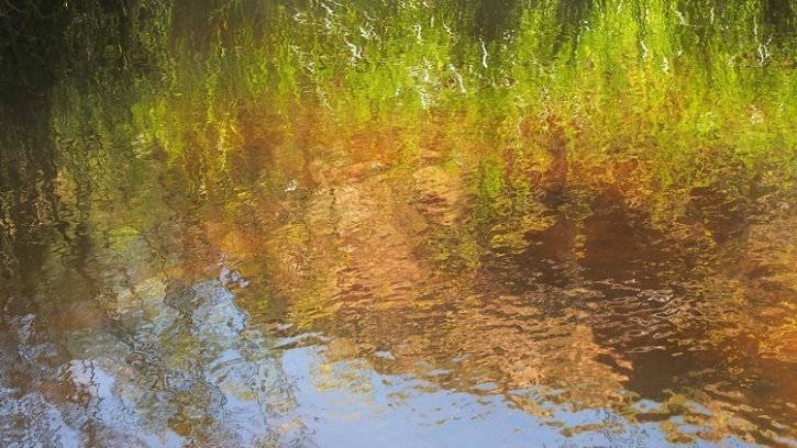 Reflections at the Rocks Reserve, via Balaklava, South Australia