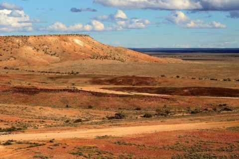 Jump-up Loop Landscape, Sturt National Park, via Tibooburra, New South Wales