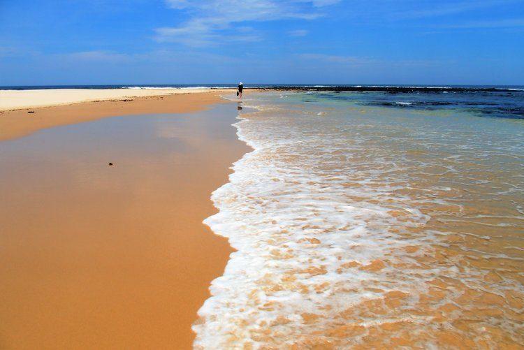 Beach in Ballina, North Coast, New South Wales