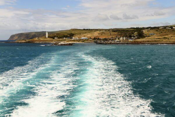 Aboard the Kangaroo Island Ferry